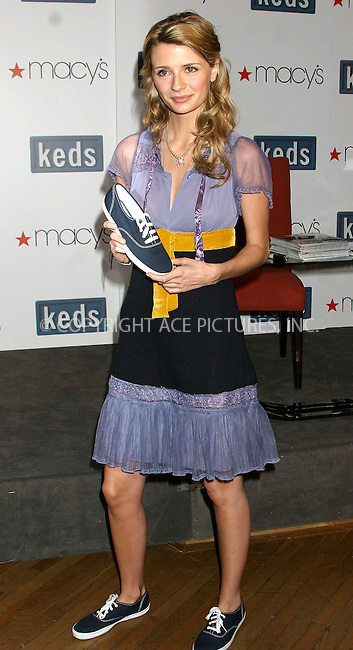 WWW.ACEPIXS.COM . . . . . ....NEW YORK, MARCH 20, 2005....Mischa Barton at an instore appearance for Keds at Macy's Herald Square.....Please byline: ACE005 - ACE PICTURES.. . . . . . ..Ace Pictures, Inc:  ..Craig Ashby (212) 243-8787..e-mail: picturedesk@acepixs.com..web: http://www.acepixs.com