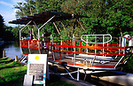 AMHK44 Ra the world s first solar powered passenger boat Norfolk Broads England