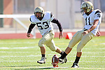 October 8, 2009: Brandon Canky (#11), Michael O'Crowley (#53)