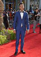 LOS ANGELES, CA. April 4, 2016. Actor Ritesh Rajan at the world premiere of &quot;The Jungle Book&quot; at the El Capitan Theatre, Hollywood.<br /> Picture: Paul Smith / Featureflash