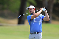 Dylan Perry (AUS) on the 9th fairway during Round 3 of the Australian PGA Championship at  RACV Royal Pines Resort, Gold Coast, Queensland, Australia. 21/12/2019.<br /> Picture Thos Caffrey / Golffile.ie<br /> <br /> All photo usage must carry mandatory copyright credit (© Golffile | Thos Caffrey)