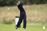 Ethan Campbell (Cairndhu) during the final of the AIG Jimmy Bruen Ulster Final at Dungannon Golf Club, Dungannon, Tyrone, Ireland. 11/08/2017<br /> Picture: Fran Caffrey / Golffile