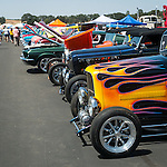 Rotary Club of Ione's first Show and Shine Aircraft and Car show at the Eagles Next airpark, Carbondale, Calif.<br /> <br /> Hot rods