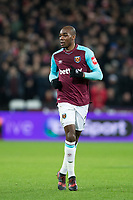 Angelo Ogbonna of West Ham United during the Premier League match between West Ham United and Arsenal at the Olympic Park, London, England on 13 December 2017. Photo by Andy Rowland.