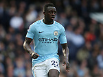 Benjamin Mendy of Manchester City during the premier league match at the Etihad Stadium, Manchester. Picture date 22nd April 2018. Picture credit should read: Simon Bellis/Sportimage