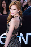"""WESTWOOD, LOS ANGELES, CA, USA - MARCH 18: Bella Thorne at the World Premiere Of Summit Entertainment's """"Divergent"""" held at the Regency Bruin Theatre on March 18, 2014 in Westwood, Los Angeles, California, United States. (Photo by David Acosta/Celebrity Monitor)"""