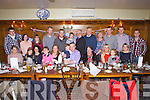 Enjoying his 40th birthday was Jason Harte from Kilmorna, Listowel, pictured here celebrating with many family and friends last Friday night in Leen's Hotel Abbeyfeale.