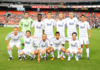 Vancouver Whitecaps FC starting eleven. D.C. United defeated The Vancouver Whitecaps FC 4-0 at RFK Stadium, Saturday August 13 , 2011.