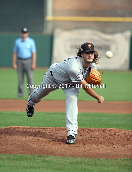 Burch Smith - Surprise Saguaros - 2017 Arizona Fall League (Bill Mitchell)