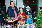 Orla, Katie and Dylan Walsh of Ballydonoghue cookery school at the craft fair on Saturday in the Thatch bar and restaurant.