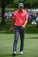 Jordan Spieth (USA) looks over the green on 5 during round 2 of the 2019 Charles Schwab Challenge, Colonial Country Club, Ft. Worth, Texas,  USA. 5/24/2019.<br /> Picture: Golffile   Ken Murray<br /> <br /> All photo usage must carry mandatory copyright credit (© Golffile   Ken Murray)