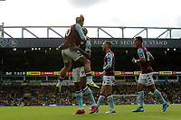 Wesley of Aston Villa in action celebrates scoring Villa's second goal during Norwich City vs Aston Villa, Premier League Football at Carrow Road on 5th October 2019