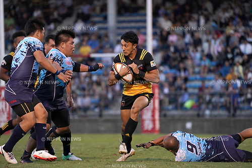 Chihito Matsui (),  SEPTEMBER 2, 2017 - Rugby : Japan Rugby Top League 2017-2018 match between Suntory Sungoliath 27-24 Yamaha Jubilo at Prince Chichibu Memorial Stadium in Tokyo, Japan. (Photo by FAR EAST PRESS/AFLO)
