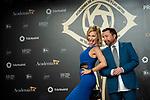 "Marlene Monreau and Jose Manuel Parada attend ""Iris Academia de Television' awards at Nuevo Teatro Alcala, Madrid, Spain. <br /> November 18, 2019. <br /> (ALTERPHOTOS/David Jar)"