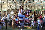 Loof Carousel at the Boardwalk in Santa Cruz