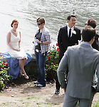 "One Life To Live Melissa Archer - Actor Christopher Lloyd (Back to the Future) - Guiding Light Tom Pelphrey - One Life To Live David Gregory - Shooting on May 1, 2011 - ""Excuse Me For Living"" - A Romantic Comedy - an Independent Film written, directed and produced by Ric Klass. (Photos by Sue Coflin/Max Photos)"