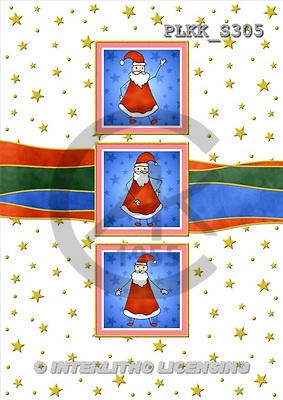 Kris, CHRISTMAS SANTA, SNOWMAN, paintings, PLKKS305,#X# Weihnachtsmänner, Schneemänner, Weihnachen, Papá Noel, muñecos de nieve, Navidad, illustrations, pinturas