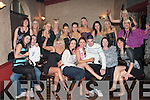 21ST BIRTHDAY: Sinead Kinsella, Meadowlands, Tralee (seated centre) having a great time celebrating her 21st birthday with family and friends at Greyhound bar, Tralee on Saturday.