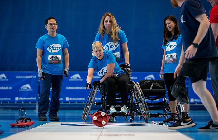 NOVEMBER 23, 2018; RICHMOND, BC, Paratough Cup was held at the Richmond Olympic Oval, with 14 corporate teams competing for the prize.