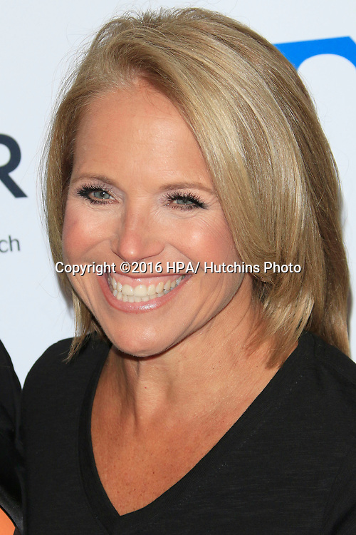 LOS ANGELES - SEP 9:  Katie Couric at the 5th Biennial Stand Up To Cancer at the Walt Disney Concert Hall on September 9, 2016 in Los Angeles, CA