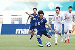 Koji Miyoshi (JPN), <br /> AUGUST 19, 2018 - Football / Soccer : <br /> Men's Group D match <br /> between Japan 0-1 Vietnam <br /> at Wibawa Mukti Stadium <br /> during the 2018 Jakarta Palembang Asian Games <br /> in Cikarang, Indonesia. <br /> (Photo by Naoki Morita/AFLO SPORT)