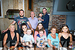 Daniel Curtin, Stacks Villas Tralee celebrates a birthday with family at Croi the Square Tralee on Thursday