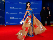 Fox News commentator  Dr. Nina Radcliff, right, arrives for the 2018 White House Correspondents Association Annual Dinner at the Washington Hilton Hotel on Saturday, April 28, 2018.<br /> Credit: Ron Sachs / CNP<br /> <br /> (RESTRICTION: NO New York or New Jersey Newspapers or newspapers within a 75 mile radius of New York City)