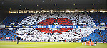 Rangers fans at the Scottish Cup semi final