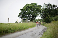 peloton speeding down the tricky descent of La Redoute<br /> <br /> stage 4: Hotel Verviers - La Gileppe (Jalhay/BEL) 186km <br /> 30th Ster ZLM Toer 2016