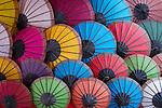 Different colors Umbrelas