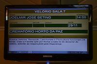 ATENÇÃO EDITOR: FOTO EMBARGADA PARA VEÍCULOS INTERNACIONAIS. - SANTO ANDRE, SP, 29 de Novembro 2012 (VELORIO DE JOELMIR BETING) .(FOTO: ADRIANO LIMA / BRAZIL PHOTO PRESS).