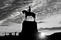Black and White, Gettysburg