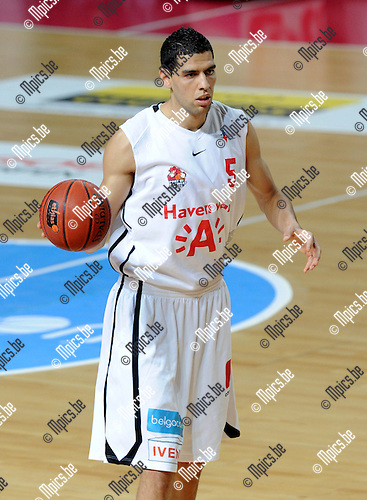 2012-05-22 / Basketbal / seizoen 2011-2012 / Play-Offs / Antwerp Giants - Charleroi / Salah Mejri..Foto: Mpics.be