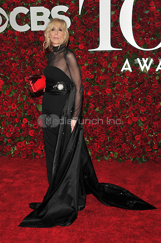 NEW YORK, NY - JUNE 12: Judith Light at the 70th Annual Tony Awards at The Beacon Theatre on June 12, 2016 in New York City. Credit: John Palmer/MediaPunch