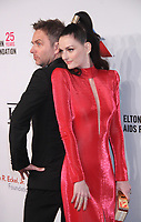 November 05, 2018 Chris Hardwick, Lydia Hearst attend Elton John Aids Foundation's 17th Annual An Enduring Vision Benefit  at Cipriani 42nd Street in New York November 05, 2018 <br /> CAP/MPI/RW<br /> &copy;RW/MPI/Capital Pictures