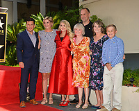 LOS ANGELES, CA. September 20, 2018: Carrie Underwood &amp; Family at the Hollywood Walk of Fame Star Ceremony honoring singer Carrie Underwood.<br /> Pictures: Paul Smith/Featureflash