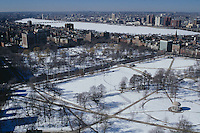 aerial, Boston Common