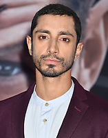 WESTWOOD, CA - OCTOBER 01: Riz Ahmed attends the Premiere Of Columbia Pictures' 'Venom' at Regency Village Theatre on October 1, 2018 in Westwood, California.<br /> CAP/ROT/TM<br /> ©TM/ROT/Capital Pictures