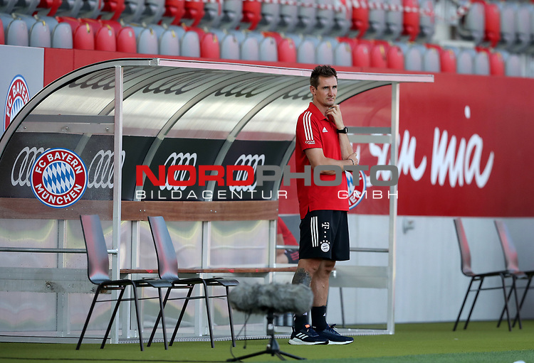 Miroslav Klose Co-Trainer FC Bayern Muenchen<br />