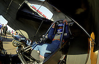Feb. 25, 2000; Chandler, AZ, USA; NHRA funny car driver Gary Densham during the CSK Nationals at Firebird International Raceway. Mandatory Credit: Mark J. Rebilas-
