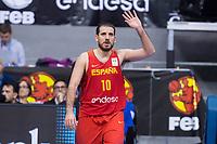 Spain Quino Colom during FIBA European Qualifiers to World Cup 2019 between Spain and Slovenia at Coliseum Burgos in Madrid, Spain. November 26, 2017. (ALTERPHOTOS/Borja B.Hojas) /NortePhoto NORTEPHOTOMEXICO