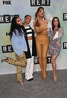 LOS ANGELES, CA - JANUARY 8: Tinashe, Kiersey Clemons, Valentina and Vanessa Hudgens at FOX Television's Rent: Live press junket at the FOX Lot in Los Angeles, California on January 8, 2019. <br /> CAP/MPI/FS<br /> &copy;FS/MPI/Capital Pictures