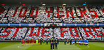 11.11.18 Rangers v Motherwell: Rangers fans display for Remembrance