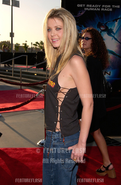 Actress TARA REID at the world premiere, in Los Angeles, of new animated movie Titan A.E.