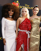 """LOS ANGELES - JUL 11:  China Anne McClain, Dove Cameron, Sofia Carson at the """"Descendants 2"""" Premiere Screening at the Cinerama Dome at ArcLight on July 11, 2017 in Los Angeles, CA"""