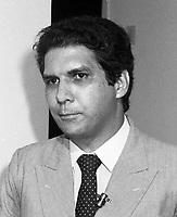 Jader Barbalho 1986<br /> Foto:Paulo Santos/ Interfoto