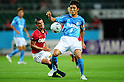 Marcio Richardes (Reds), Daisuke Nasu (Jubilo),..JULY 17, 2011 - Football :..2011 J.League Division 1 match between Jubilo Iwata 1-1 Urawa Red Diamonds at Ecopa Stadium in Shizuoka, Japan. (Photo by AFLO)