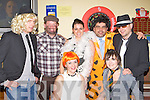 Enjoying the fancy dress New Years Eve party in the Half Barrell bar Castleisland on Friday night front l-r: Fiona Cahill, Ellen O'Connor. Back row: Michael McMahon, George O'Connor, Breda O'Connor, Kevin and Ger O'Connor