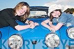 Classy Cars: At the Kingdom Vintage and Veteran Car Club Rally on Friday evening, which left from the Thatch Bar, Lisselton, were Kelley OSullivan, Lisselton, and her young cousin Ciara Keane, Upper Gortnaskeha, pictured with a 1971 Matra 530..