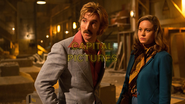 Free Fire (2016) <br /> Sharlto Copley &amp; Brie Larson<br /> *Filmstill - Editorial Use Only*<br /> FSN-K<br /> Image supplied by FilmStills.net